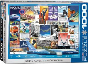 Boeing Advertising 1000 piece jigsaw puzzle   680mm x 490mm    (pz)